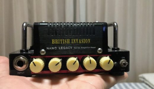 HOTONE BRITISH INVASION 手のひらサイズのヘッドアンプ