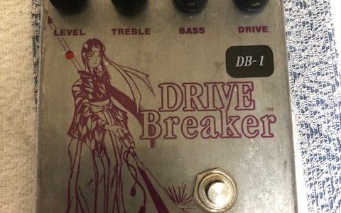 sabbat drive breaker DB-1 太く強力なサスティン